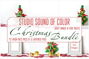 Christmas Bundle with bright decor