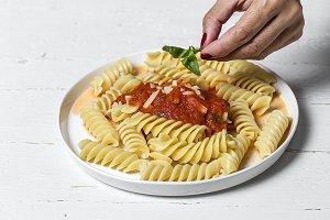 Italian Pasta with tomato