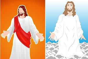 Easter - Jesus Vector Backgrounds