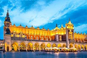 City square in Krakow