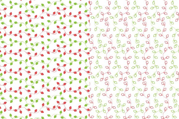 Christmas patterns & elements in Graphics - product preview 4