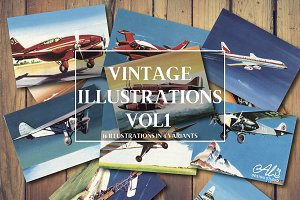 Vintage Illustrations Vol. 1