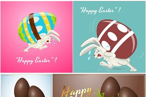 Easter Eggs Backgrounds