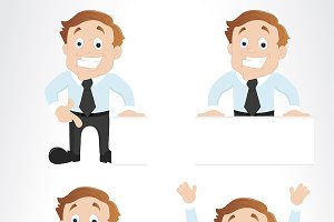 Corporate Cartoon Character Vectors