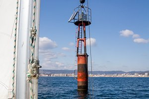 Nautical warning sign