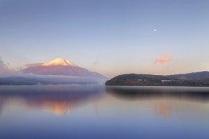 Mt.Fuji in morning