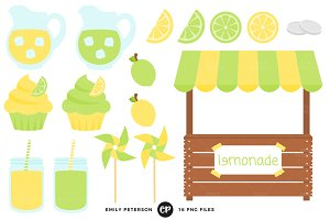 Lemonade Stand Clipart