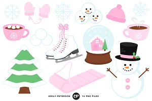 Let It Snow Clipart