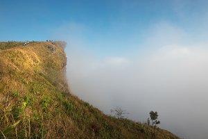 Phu Chi fa cliff
