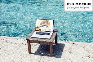 Laptop Mockup - PSD for designers