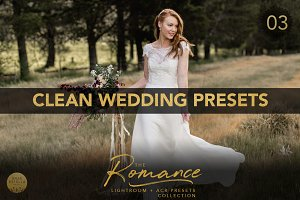 Clean Wedding LR ACR Presets