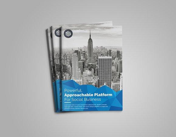 bi fold brochure template brochure templates creative market