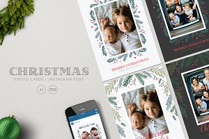 Christmas Photo Cards + Instagram