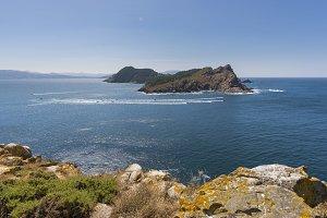 San Martino Island (Cies Islands).