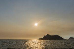 Cies Islands, Spain.