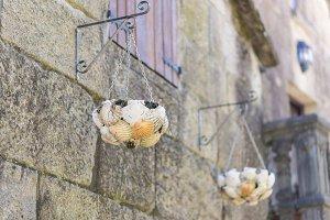 Galician flowerpots.