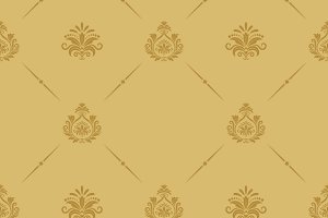 Seamless pattern baroque style