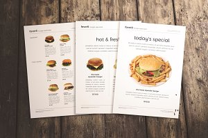 Burger Menu Set 3 in 1
