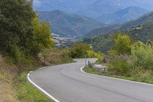 Mountain road.