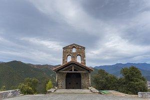 Hermitage of San Miguel (Cantabria).