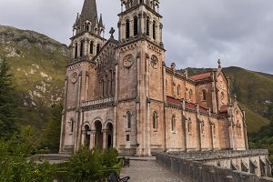 Sanctuary of Covadonga.