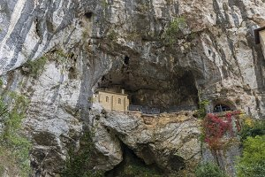 Hermitage of Covadonga Virgin.