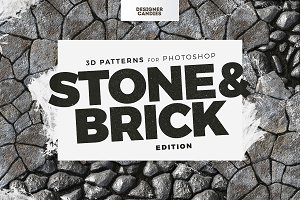 Seamless Stone & Brick Patterns