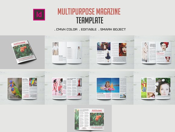 Multipurpose Magazine-Graphicriver中文最全的素材分享平台