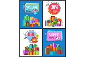 Super Sale Special Offer Best Prices Discounts Box