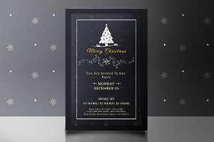 Christmas Party Flyer -V682
