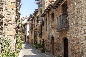 Street Ainsa village