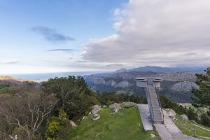 Lookout of Fito (Asturias).