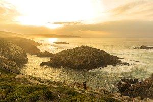 Coast of Arteixo (La Coruna).
