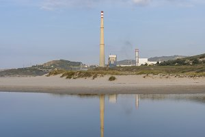 Thermal power plant of Sabon.