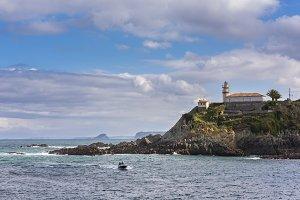 Lighthouse of Cudillero (Asturias).