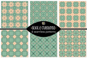 Set 84 - 6 Seamless Patterns