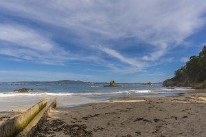San Pedro beach (Veigue).