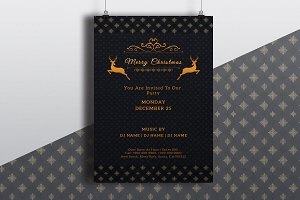 Christmas Party Flyer - V683
