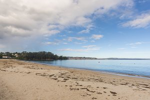 Gandario beach (La Coruna).