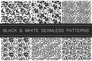 6 Black and white patterns