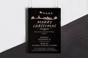Christmas Invitation Flyer - V684