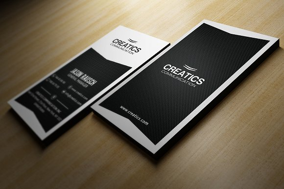 Black and white business card business card templates creative black and white business card business card templates creative market wajeb Choice Image