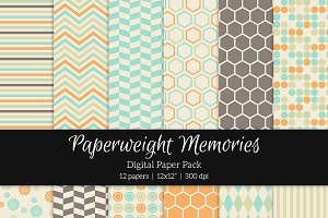 Patterned Paper - Yearbook