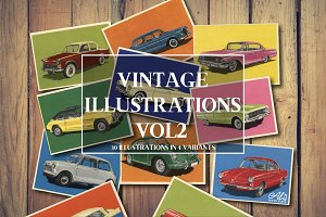 Vintage Illustrations Vol. 2