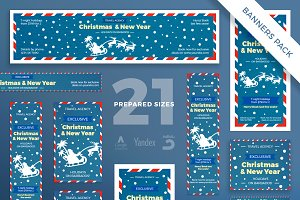 Banners Pack | Christmas Travel