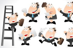 Office Guys Character Vectors