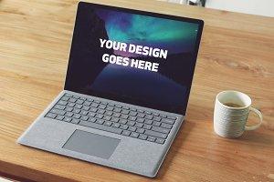 Microsoft Laptop Mock-up #32