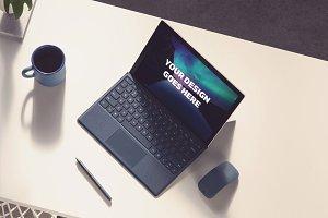 Microsoft Laptop Mock-up #31