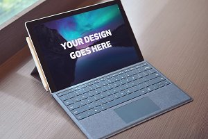 Microsoft Laptop Mock-up #29