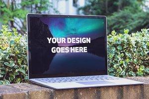 Microsoft Laptop Mock-up #28